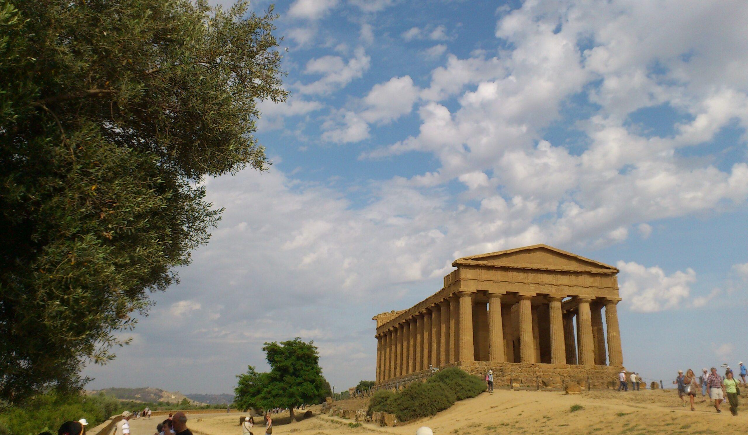 Templo de la Concordia. Agrigento