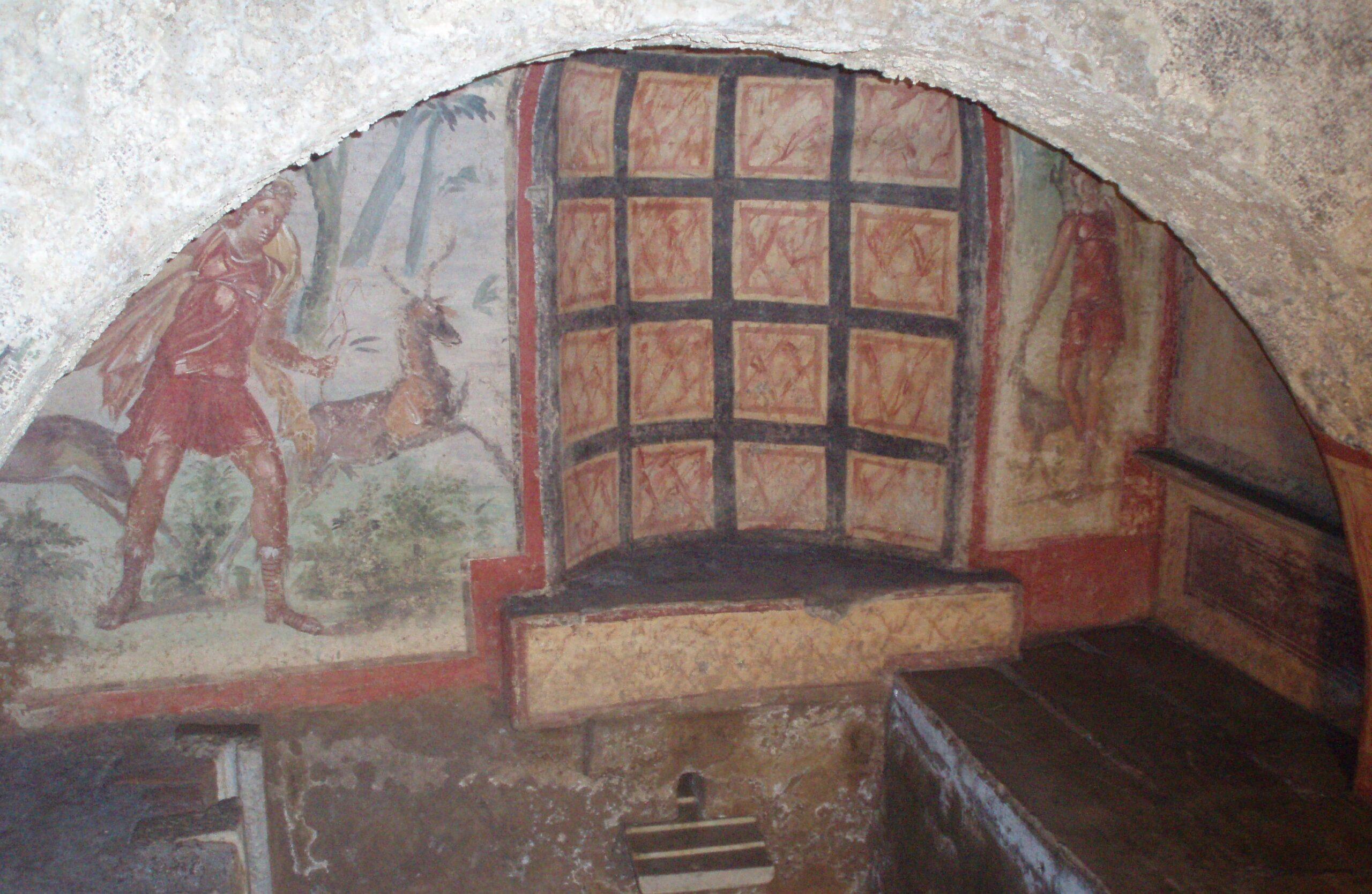Hipogeo de Vía Livenza. Roma