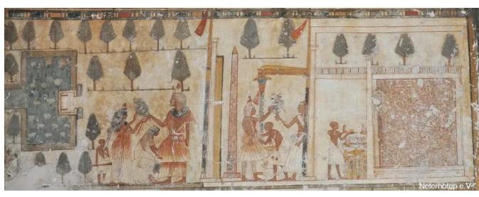 Fresco de la tumba de Neferhotep (TT49)