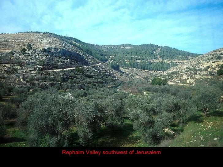 Valle de Rephaim