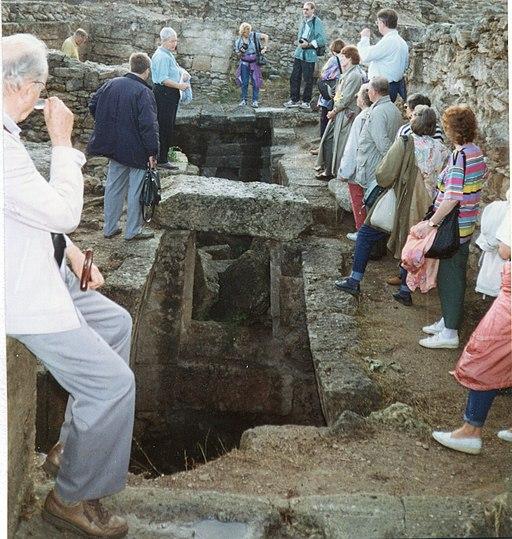 Tumbas reales del palacio de Ugarit