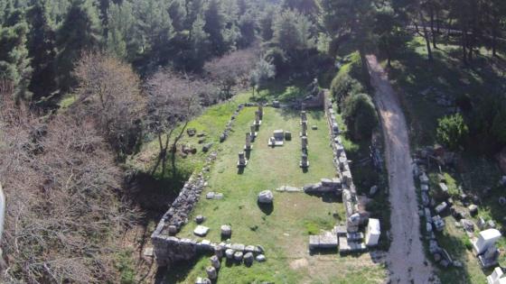 Santuario de Anfiarao en Oropo