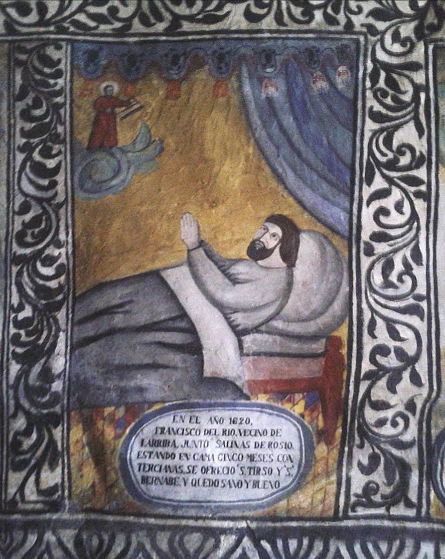 Un milagro de la Ermita-Santuario de San Tirso y San Bernabé (Merindad de Sotoscueva).