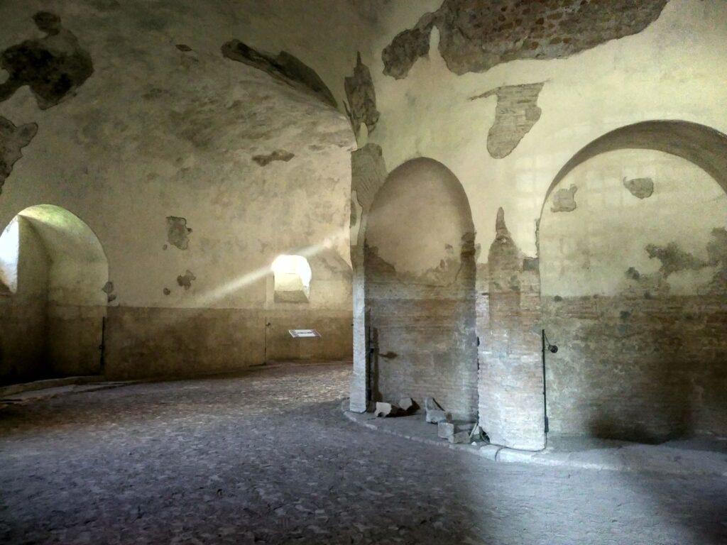 Villa de Majencio, Roma. Fotografía del autor Fotografía del autor.